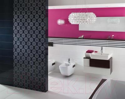 Плитка для стен ванной Opoczno Fusion Grafit OP016-004-1 (500x200)