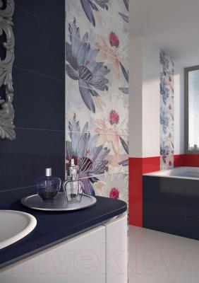 Декоративная плитка Opoczno Панно Fusion French Lake White Flower OD016-023 (500x400)