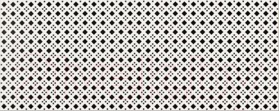 Декоративная плитка для ванной Opoczno Black&White Pattern D OP399-006-1 (500x200)