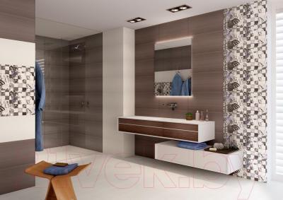 Плитка для стен ванной Opoczno Avangarde White OP352-003-1 (600x297)