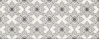 Декоративная плитка для ванной Opoczno Black&White Pattern E OP399-009-1 (500x200) -