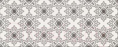 Декоративная плитка для ванной Opoczno Black&White Pattern E OP399-009-1 (500x200)