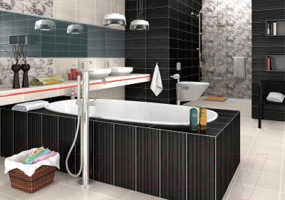 Плитка для пола ванной Opoczno Orisa White OP342-004-1 (333x333)