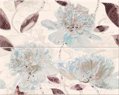 Декоративная плитка для ванной Opoczno Панно Orisa Nordic Flower OD342-015 (500x400)