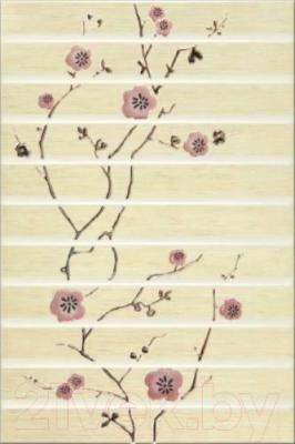 Декоративная плитка для ванной Opoczno Fiji Krem Orient OD023-012 (450x300)