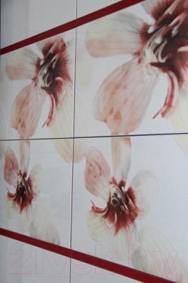 Декоративная плитка для ванной Opoczno Lorena Maya Grafit A OD025-038 (450x300)