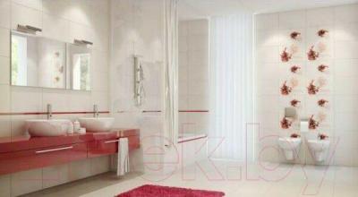 Декоративная плитка для ванной Opoczno Lorena Maya Czerwone B OD025-041 (450x300)