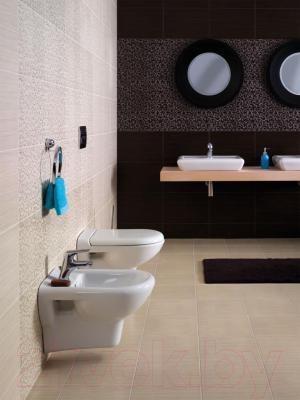 Плитка для пола ванной Opoczno Zebrano Zebra Krem OP028-004-1 (333x333)