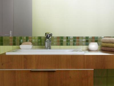 Плитка для стен ванной Opoczno Calipso Seledyn OP022-006-1 (450x300)