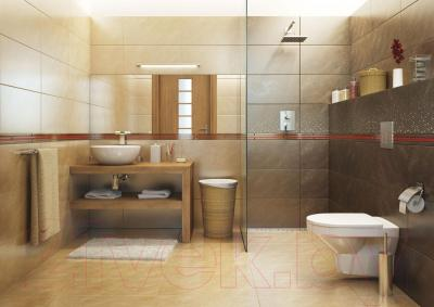 Декоративная плитка для ванной Opoczno Atakama Brown City OD396-006 (598x297)