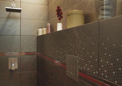 Декоративная плитка для ванной Opoczno Atakama Brown Points OD396-009 (598x297)