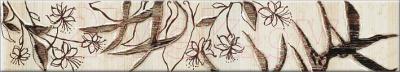 Бордюр Opoczno Aleksandria Krem Flower OD020-011 (300x54)