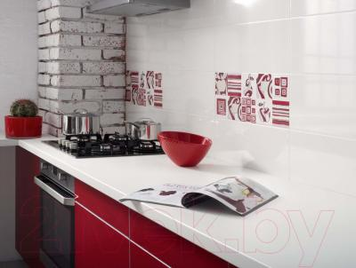 Плитка Opoczno Penne White Gloss OP018-001-1 (500x200)