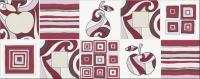 Декоративная плитка для кухни Opoczno Penne Violet 1 OD018-011 (500x200) -