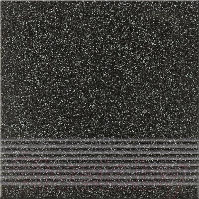 Ступень Opoczno Ступень Milton Grafit Gres OP069-006-1 (326x326)