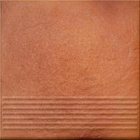Ступень клинкерная Opoczno Solar Orange 3D OP128-020-1 (300x300) -