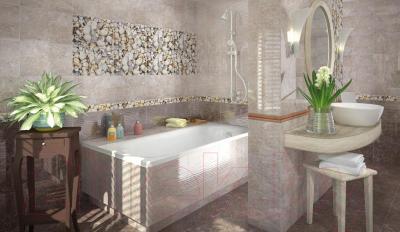 Декоративная плитка для ванной Opoczno Nizza Мушли А (450x300)
