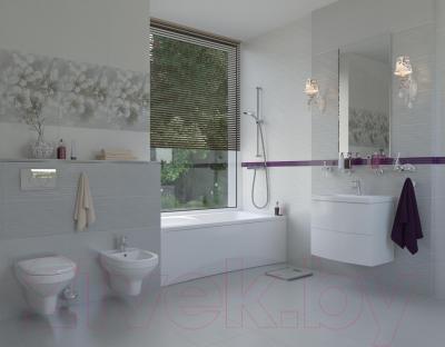 Плитка для стен ванной Opoczno Mirta Серая Структурная (450x300)