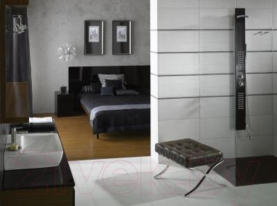 Плитка для пола Opoczno Metalic Grafit OP011-009-1 (598x297)