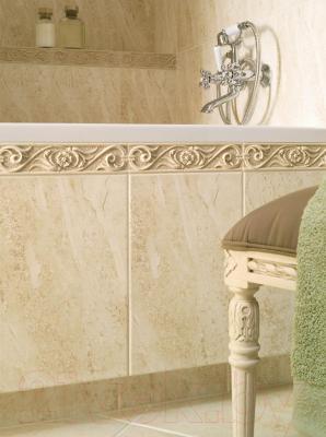 Бордюр для ванной Opoczno Амаро Крем (300x70)