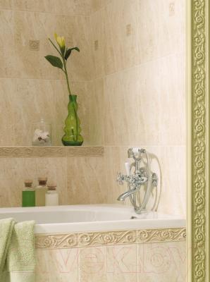 Бордюр для ванной Opoczno Амаро Крем (300x30)