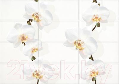 Декоративная плитка Cersanit Mono MYM301R (350x250, белый)