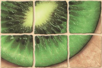 Декоративная плитка Cersanit Сoctail Киви CT2К152 (300x200, темно-бежевый)