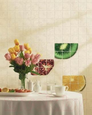 Декоративная плитка для кухни Cersanit Сoctail Лимон CT2К304 (300x200, светло-бежевый)