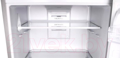 Холодильник с морозильником Indesit DF 5180 S