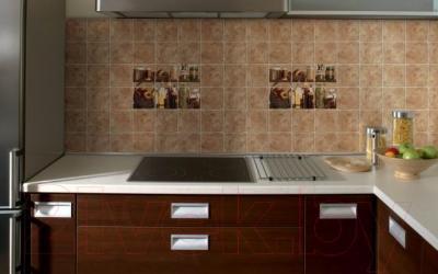 Декоративная плитка для кухни Cersanit Сoctail Специи CT2К153 (300x200, темно-бежевый)