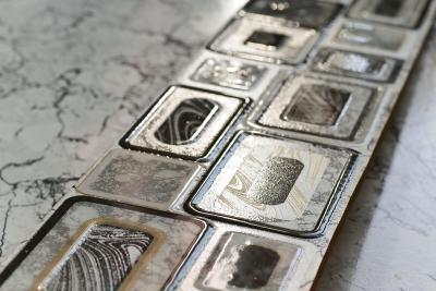 Декоративная  плитка для пола Cersanit Emperador Белый EM5R052 (440x110)