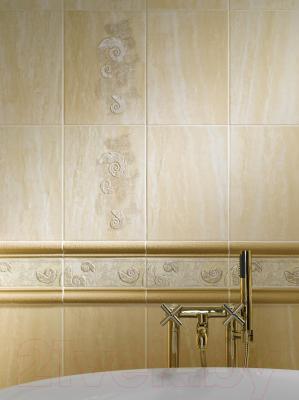 Плитка для пола ванной Cersanit Травертино Браун 1 (330x330)