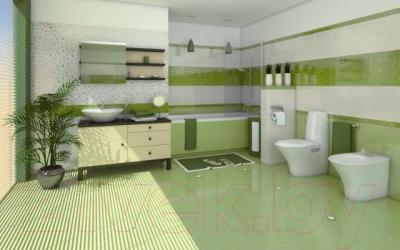 Декоративная плитка для ванной Cersanit Синтия Верде (350x250)