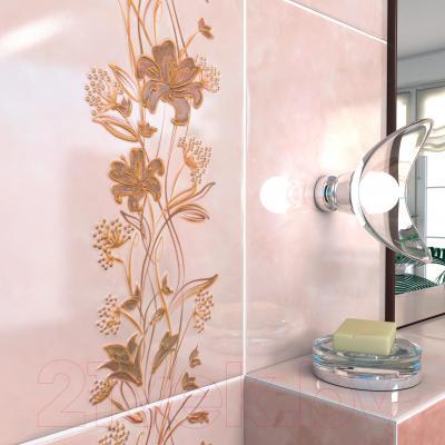 Декоративная плитка для ванной Cersanit Даниела Крем (350x250)