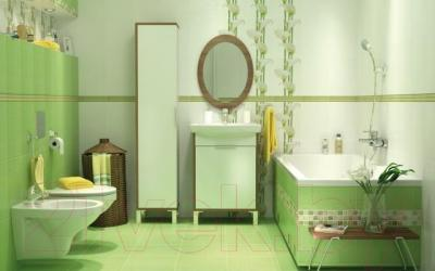 Плитка для стен ванной Cersanit Rona Верде (350x250)