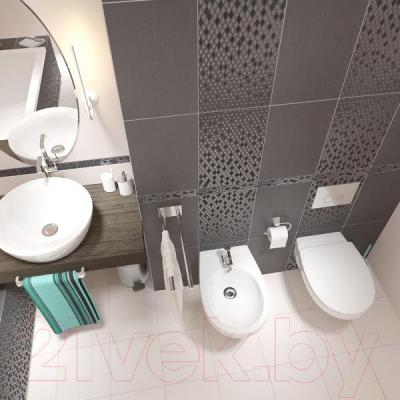 Плитка для стен ванной Cersanit Vanessa Неро 1 (450x300)