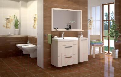 Плитка для пола ванной Cersanit Miranda Браун 1 (330x330)