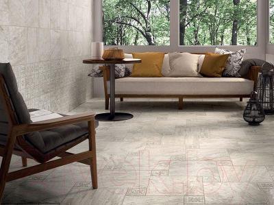 Декоративная  плитка для пола ColiseumGres Альпы Мозаика (300x100, белый)
