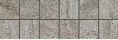 Декоративная плитка ColiseumGres Альпы Мозаика (300x100, серый)
