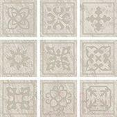 Декоративная плитка ColiseumGres Альпы Челтико (100x100, белый)
