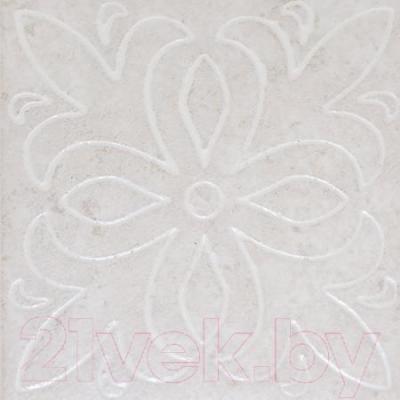 Декоративная плитка ColiseumGres Марке Антэа (72x72, белый)