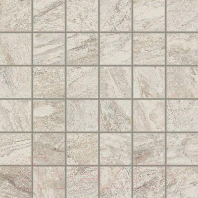 Декоративная плитка ColiseumGres Альпы Мозаика (300x300, белый)
