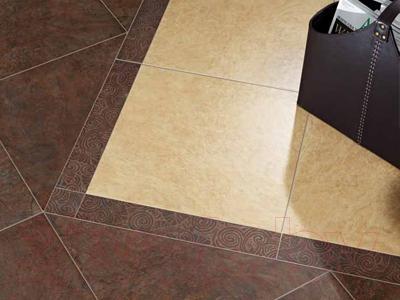 Декоративная  плитка для пола ColiseumGres Сардиния Загара (450x72, белый)