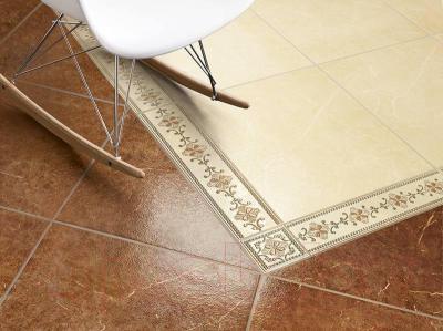 Плитка для пола ColiseumGres Сицилия (450x450, коричневый)