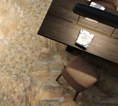 Плитка Italon Манетик Раст Голд (600x600)