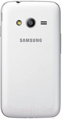 Смартфон Samsung Galaxy Ace 4 Neo Duos / G318H (белый) - вид сзади