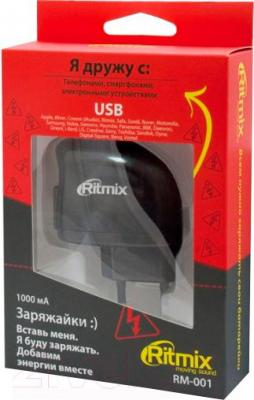 Сетевой адаптер питания Ritmix RM-001