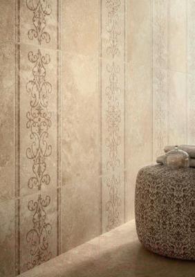 Декоративная  плитка для пола Italon НЛ-Стоун Алмонд Нинфеа (600x300)