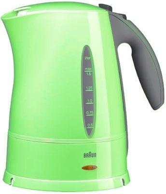 Электрочайник Braun WK 210 (зеленый) - вид сбоку
