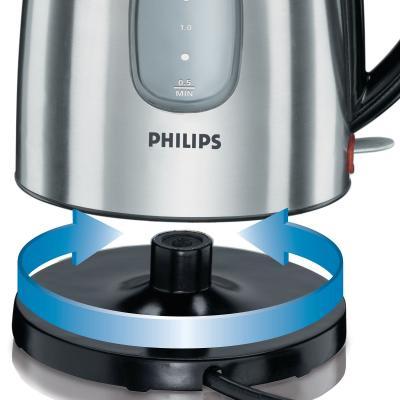 Электрочайник Philips HD4665/20 - установка на подставку